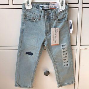 Old Navy Baby Girl Karate Skinny Jeans
